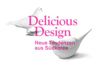 delicious design logo type in pink