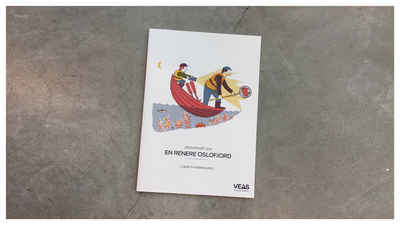 Photo of the cover for the rapport by Veas